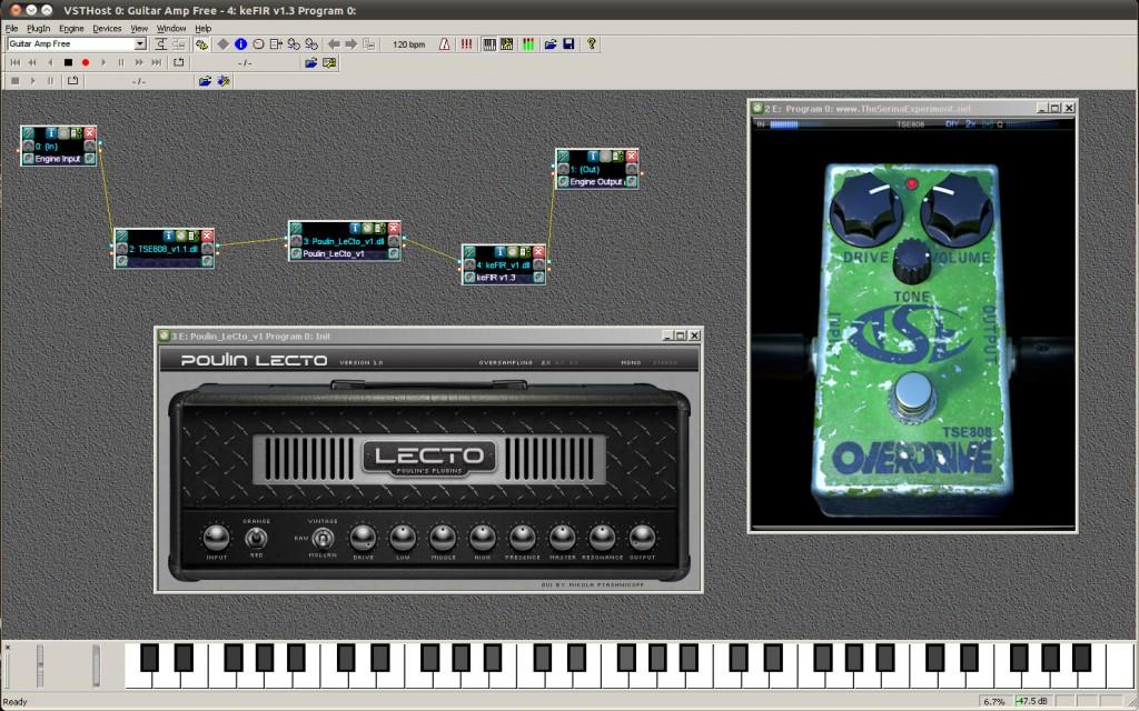 Linux and free audio plugins | SantoClemenzi com