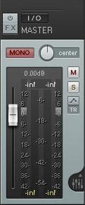 Mono button in REAPER