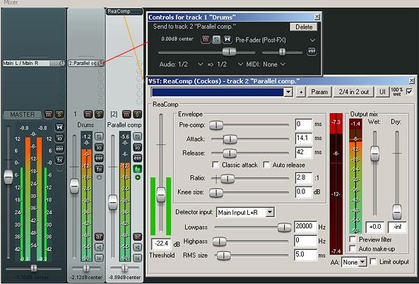Drums Parallel Compression | SantoClemenzi com