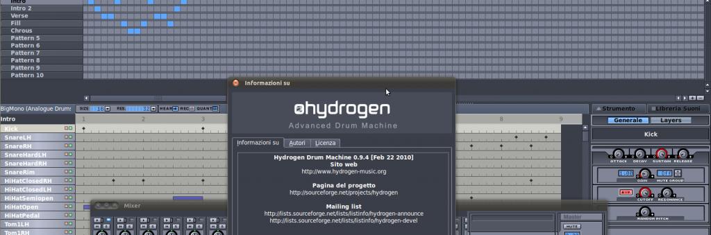 Hydrogen Advanced Drum Machine