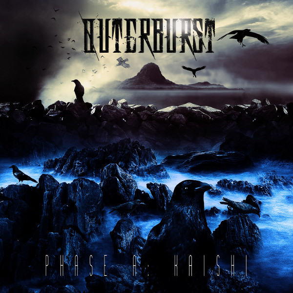 "Outerburst - ""Phase A: Kaishi"" cover ArtWork by Caio Caldas"